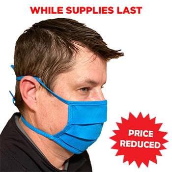 Non-Woven Face Mask w/Tie Back