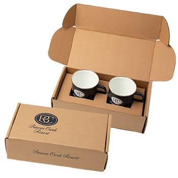 16 oz Speckle-It™ Camping Mugs Gift Box Set