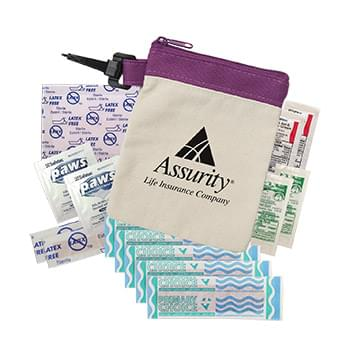 Clip-It™ Canvas First Aid Kit