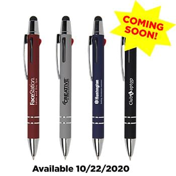 Madrid 3-in-1 Velvet Touch Aluminum Pen