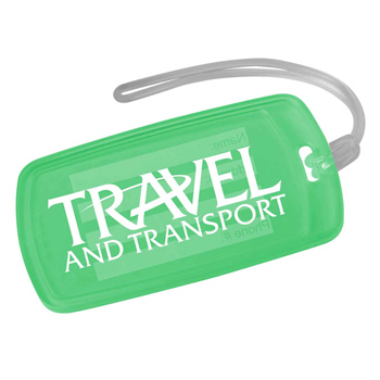 Traveler Rectangle Luggage Tag