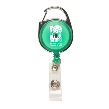 Carabiner Secure-A-Badge™