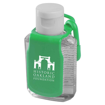 2 oz. Protect™ Antibacterial Gel w/ Caddy