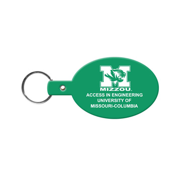 Oval Flexible Key-Tag