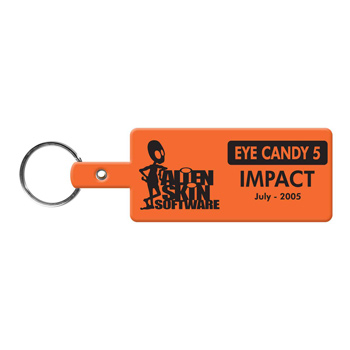 Rectangle Flexible Key-Tag