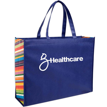 Non-Woven Color Burst Expo Tote